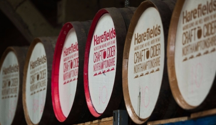 Harefields Barrel Ends Cider