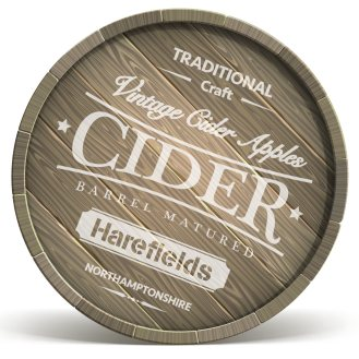 Bendy Cider Barrel ends close up_Harefields Craft Cider