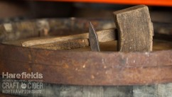 Harefields Craft Cider_Barrel_Mallet_Hammer_Northamptonshire