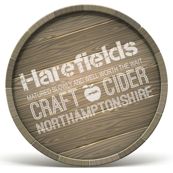 Logo stamp Barrel ends close up_Harefields Craft Cider