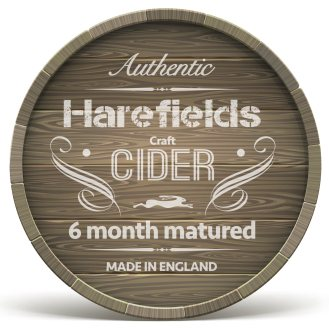 Swirly Barrel ends close up_Harefields Craft Cider