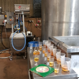 Harefields Cider Blending