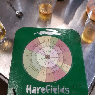 Harefields cider flavours